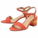 Red Celmont Open-Toe Sandals | Ravel
