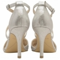 Silver Volusia Heeled Pumps | Ravel