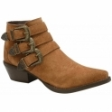Tan Colville Suede Ankle Boots | Ravel