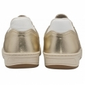 Champagne Coen Leather Trainers | Ravel