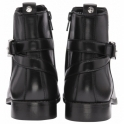 Black Mariel Leather Ankle Boots | Ravel