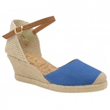 Azure Etna Espadrille Wedge Sandals | Ravel