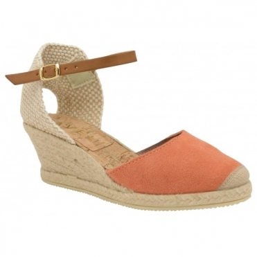 Coral Etna Espadrille Wedge Sandals | Ravel