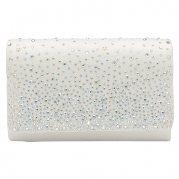 White Myers Clutch Bag | Ravel