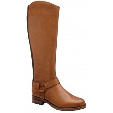 Tan Willowby Leather Knee-High Boots | Ravel