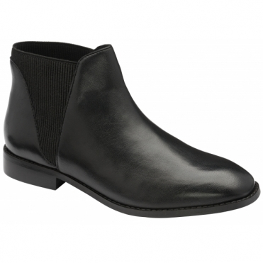 Black Sabalo Leather Ankle Boots | Ravel