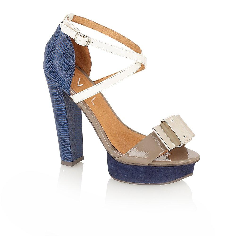 ravel legacy platform sandals navy grey ravel from ravel uk
