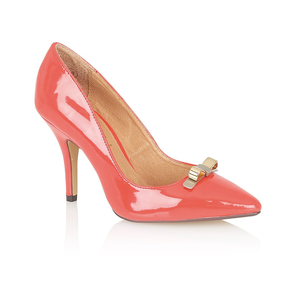 Ladies Coral Court Shoes