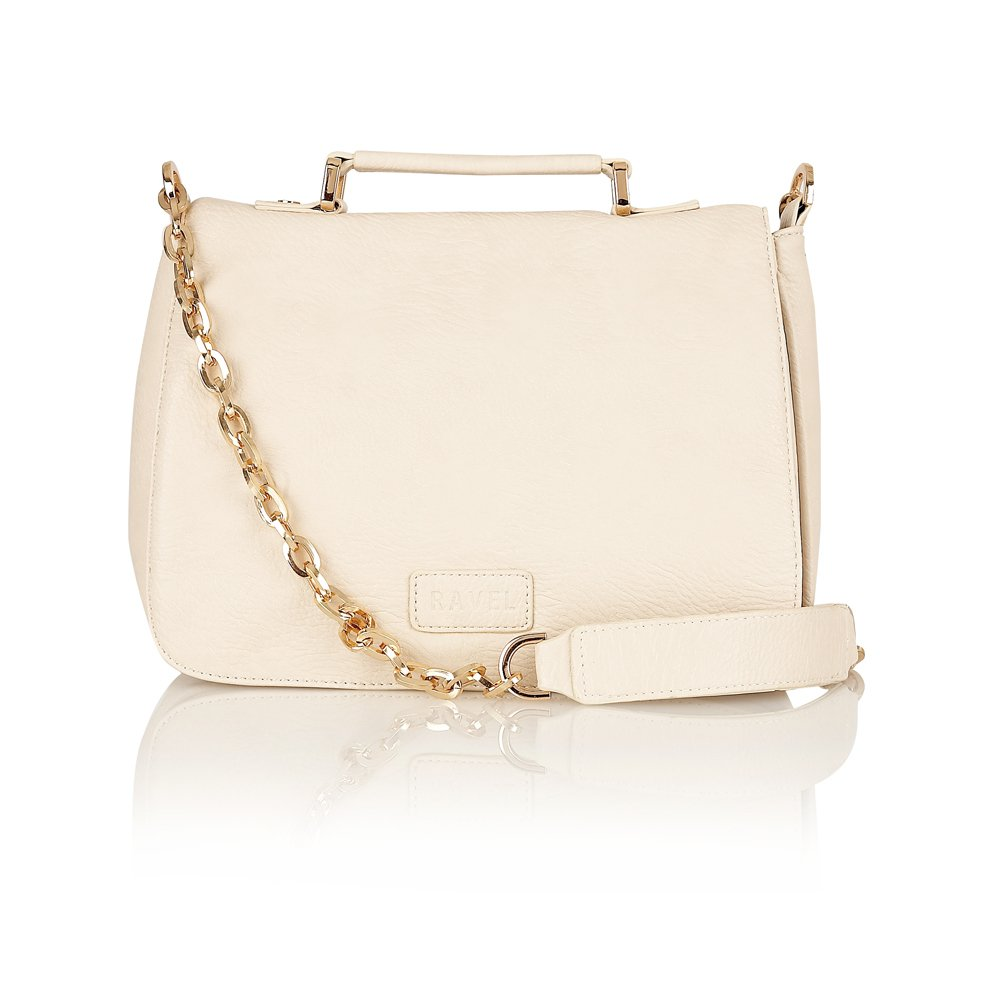 Ravel Mavis Satchel Bag Cream - Ravel from Ravel UK