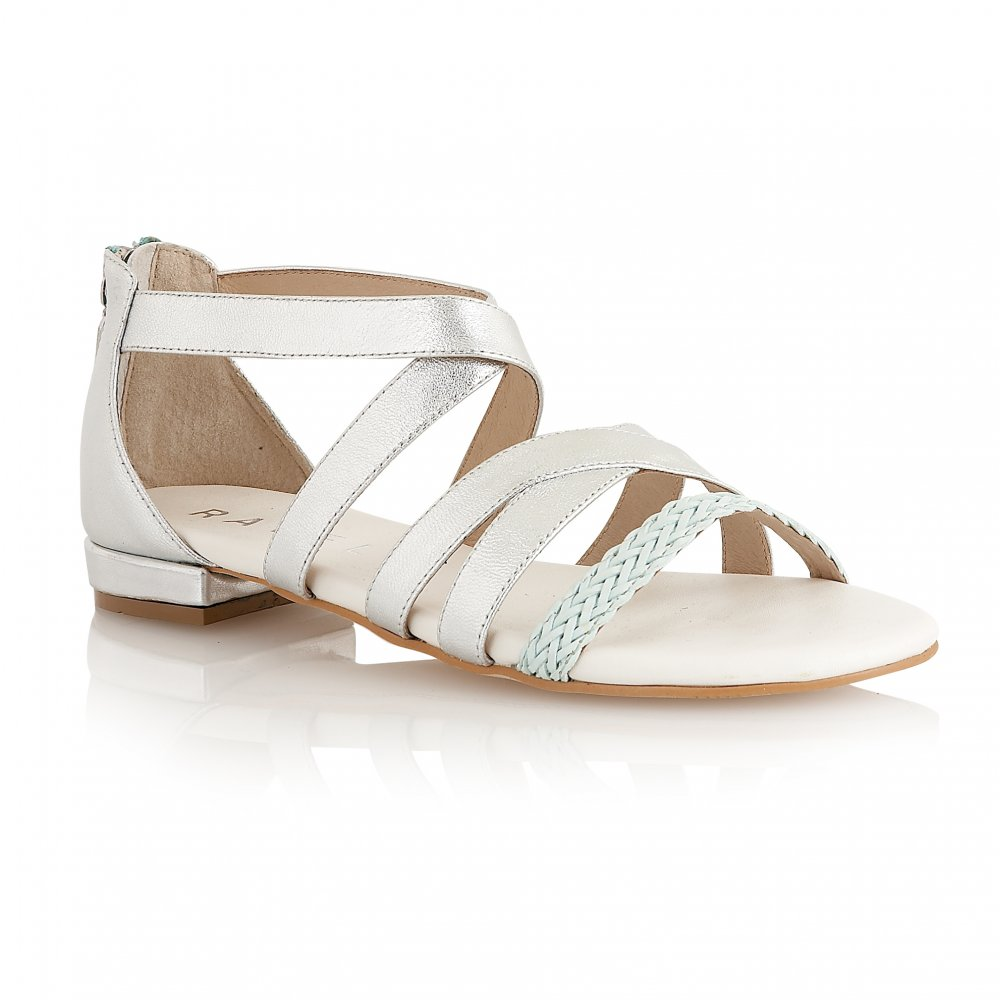Buy Ravel ladies Balm sandals online silver leather