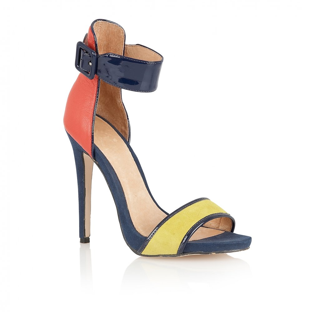 f2b7f001b70 Buy Ravel ladies Pansy colour block strappy sandals online