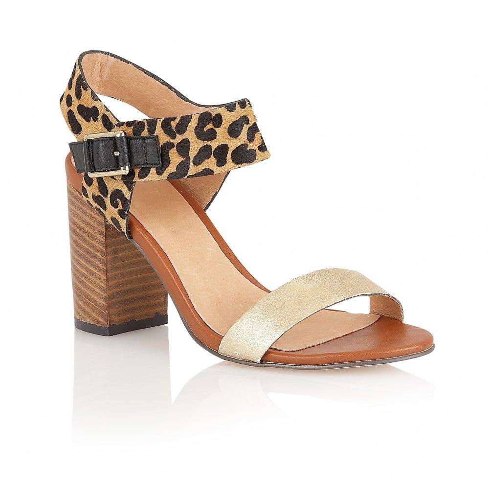 9d45351d667 Buy Ravel ladies Honeysuckle sandals online in gold leopard