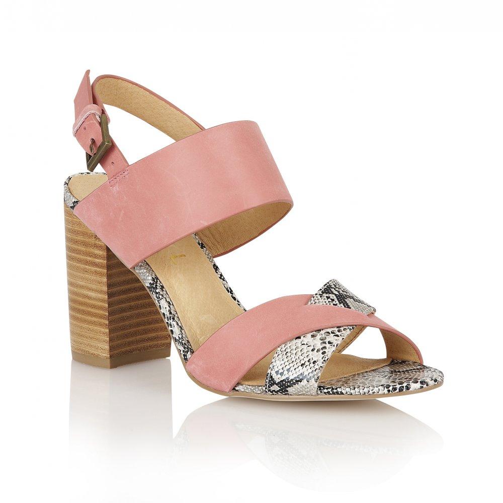 buy ravel tucson heeled sandals in pink