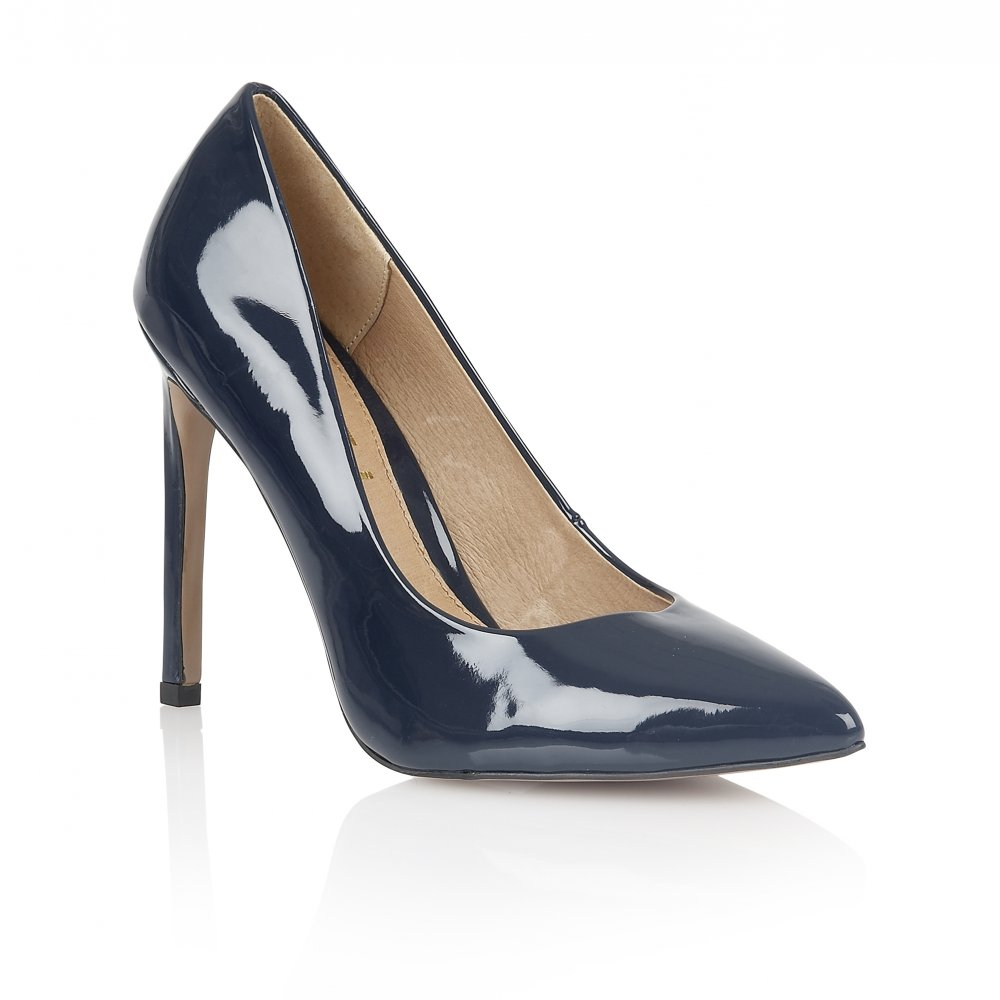 Buy Ravel ladies  San Antonio court shoes online navy patent