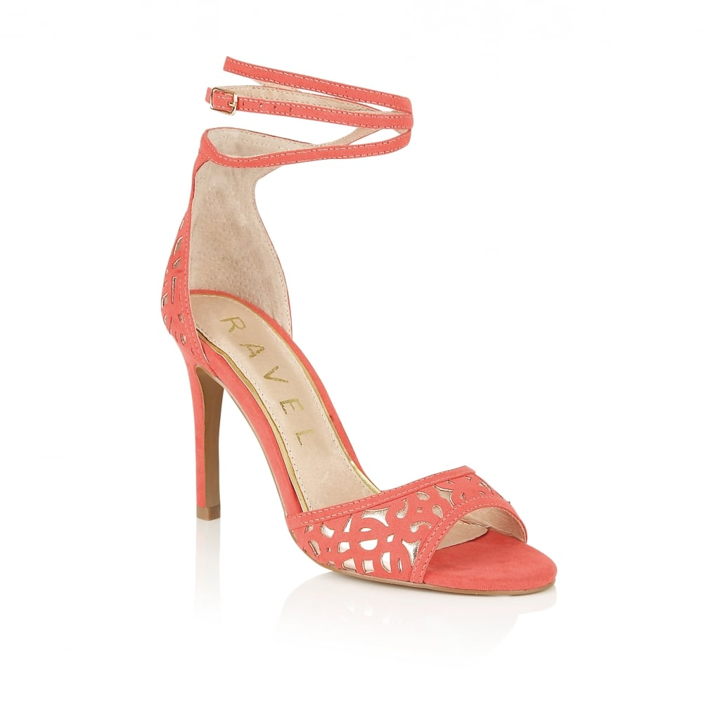 Coral Wedge Dress Shoes