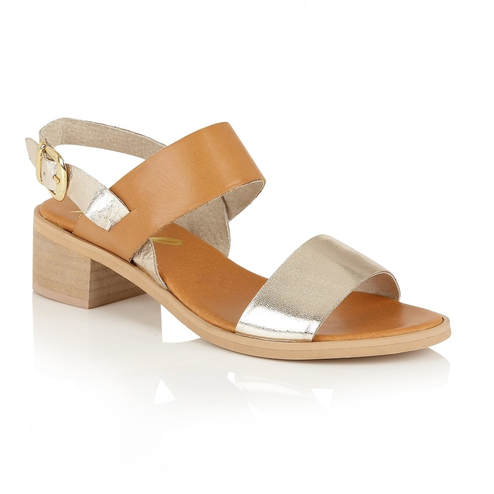 87fc9f25afd Buy Ravel ladies Qunicy mid-height sandals online in tan leather