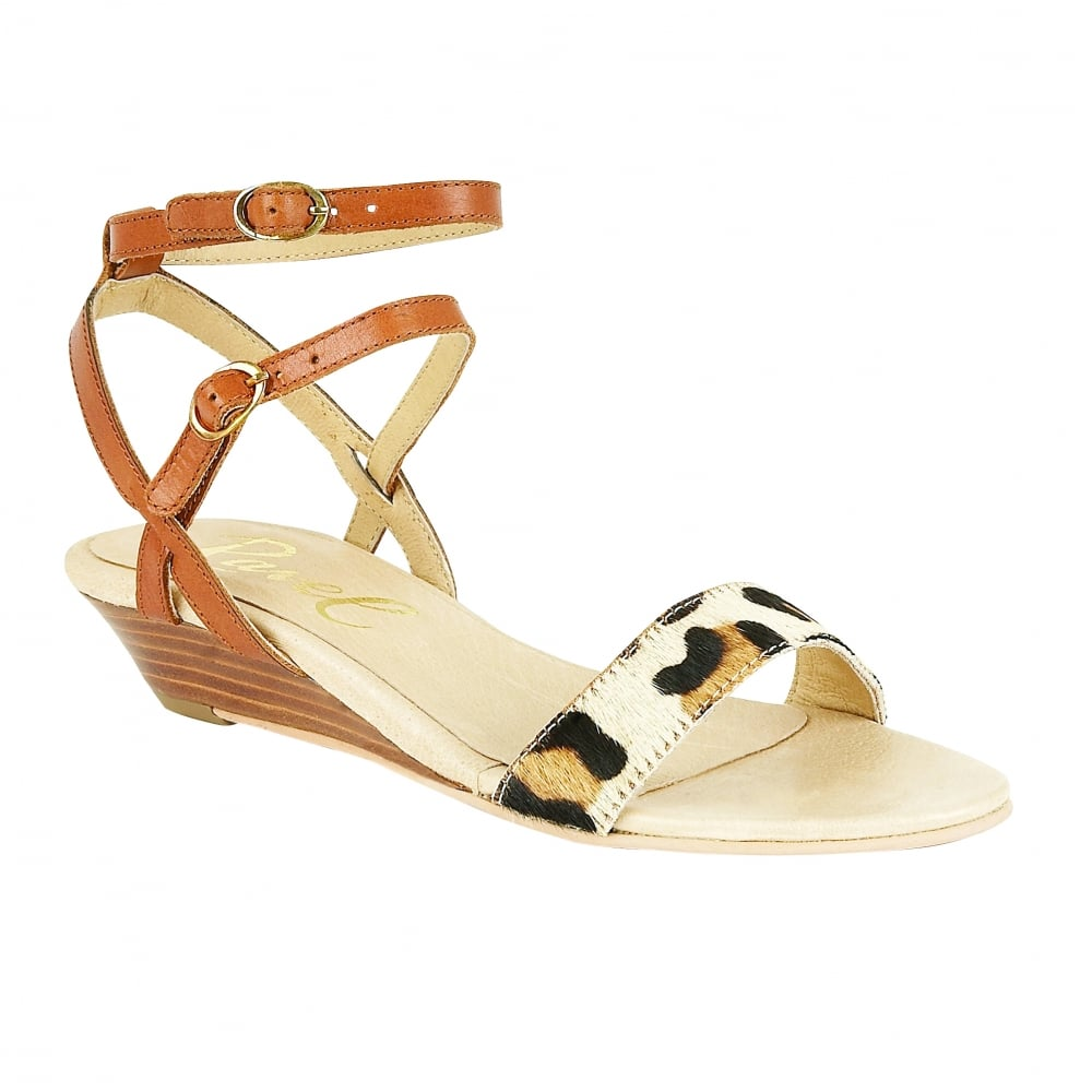 51f5c34f175f Buy Ravel ladies  Fremont low wedge sandals online in tan leather
