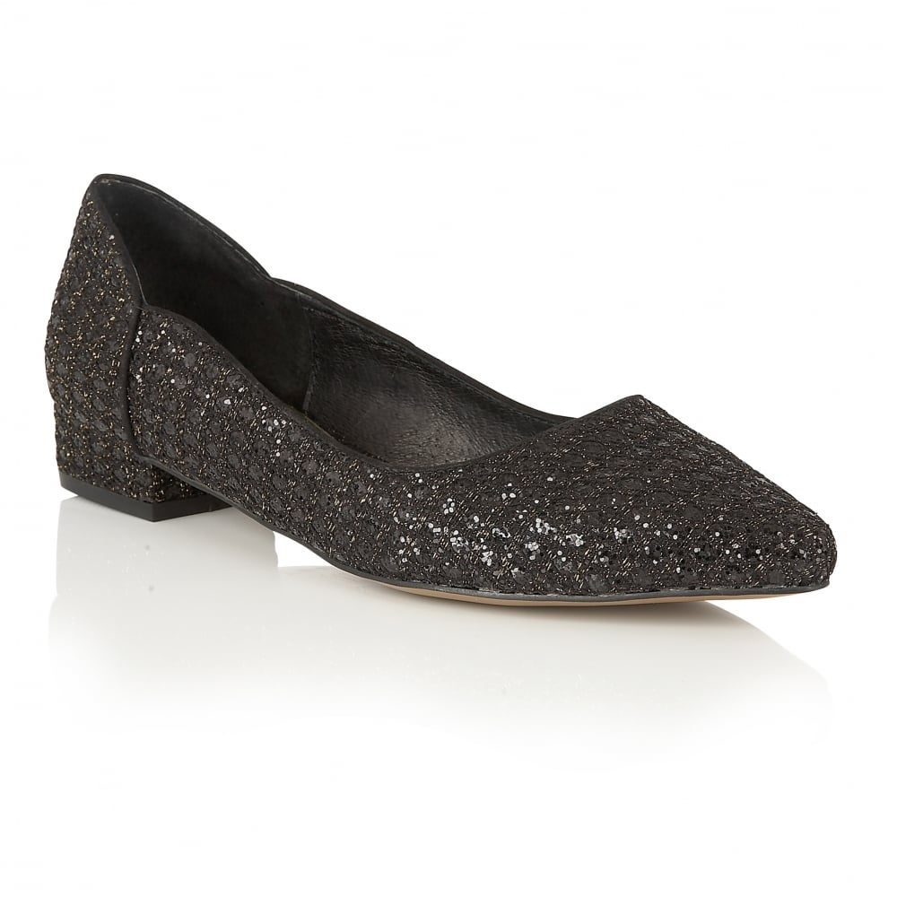 43000cac1ca0 Buy Ravel ladies Carson flat pumps online in black glitter