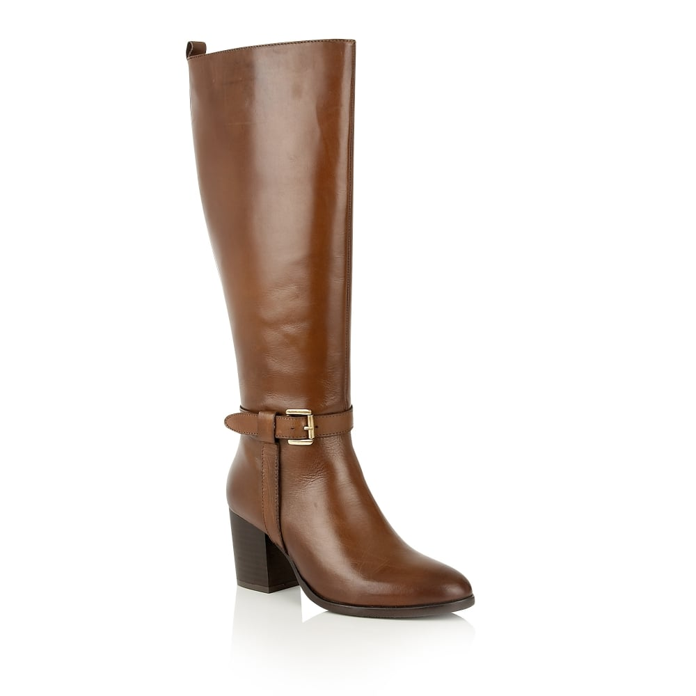 buy ravel waller knee high boots in cognac