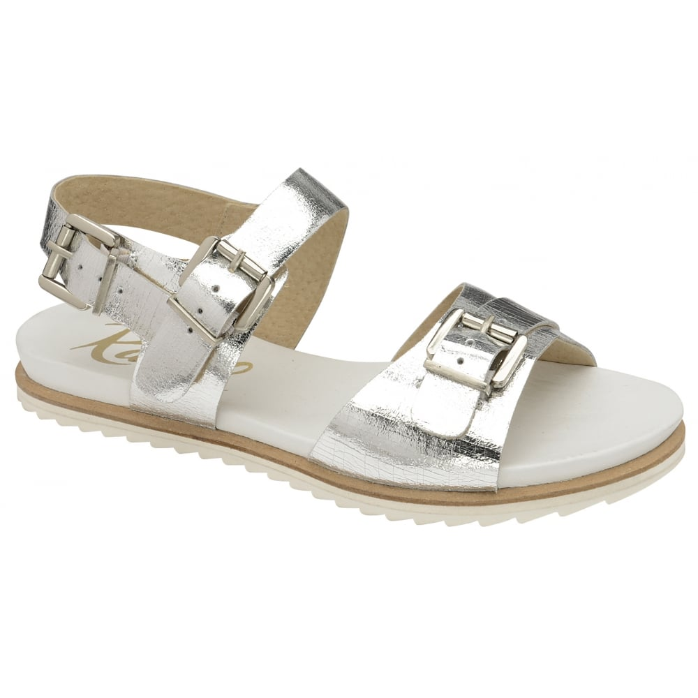 a57082ce8 Buy Ravel ladies  Moab sandals in silver leather