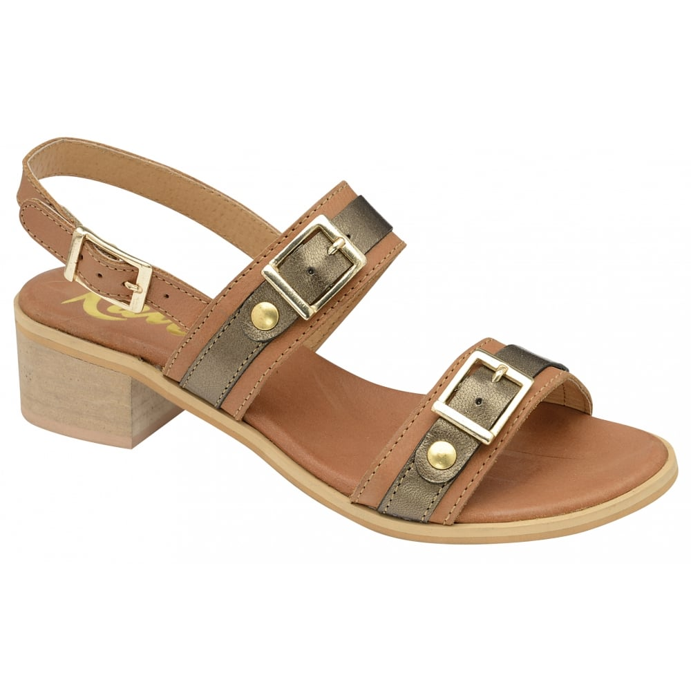 b48e0ce1991 Buy Ravel ladies  Sherma heeled sandals online in tan leather