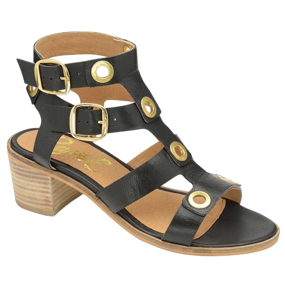 49d117f48aca Buy Ravel ladies  Atlanta heeled sandals online in black leather