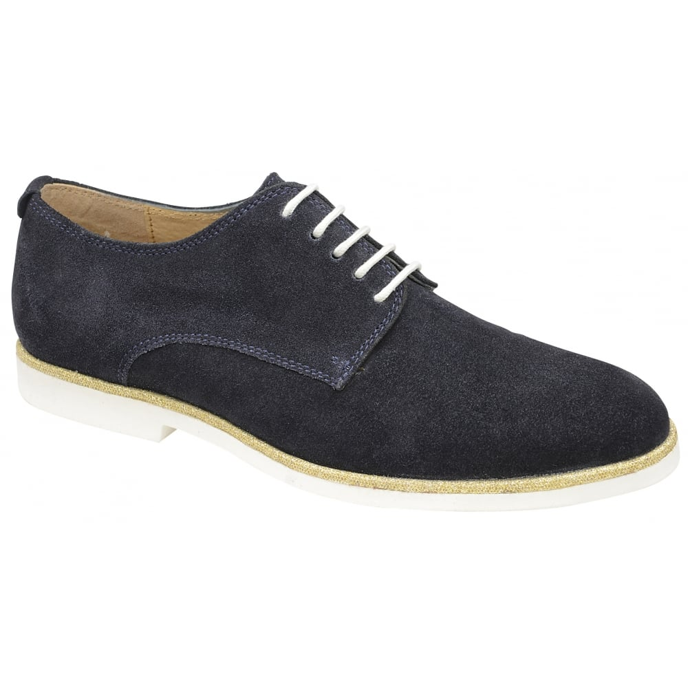 Traditional Brogue Suede Shoes