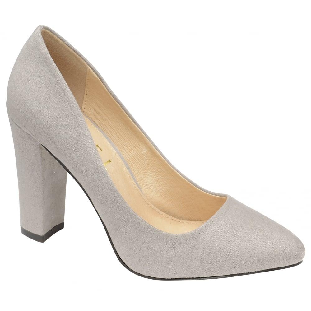 Ladies Grey Court Shoes