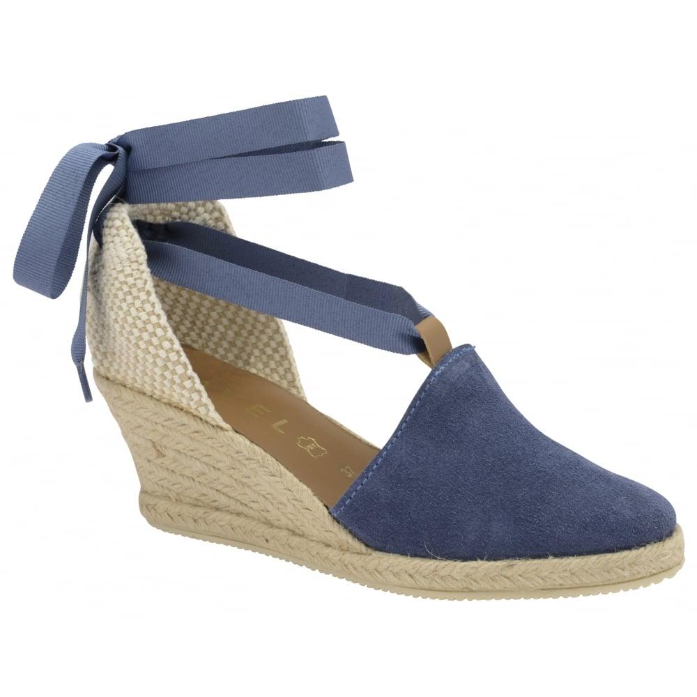 65f17ae53cd66 Buy Ravel ladies  Antora espadrille wedge sandals online in navy suede