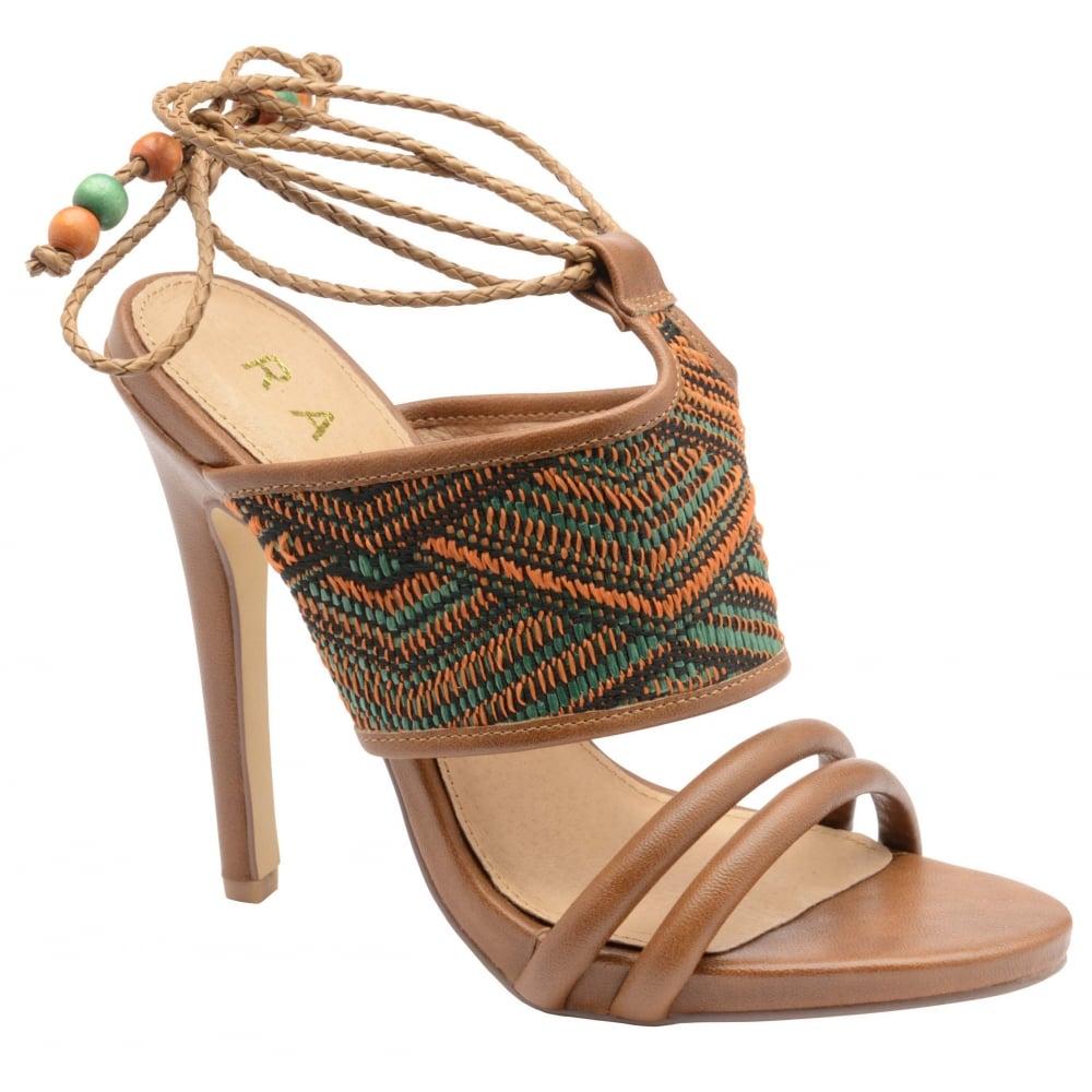 0177c9cb36d4fa Buy Ravel ladies  Chelan heeled sandals online in tan aztec print