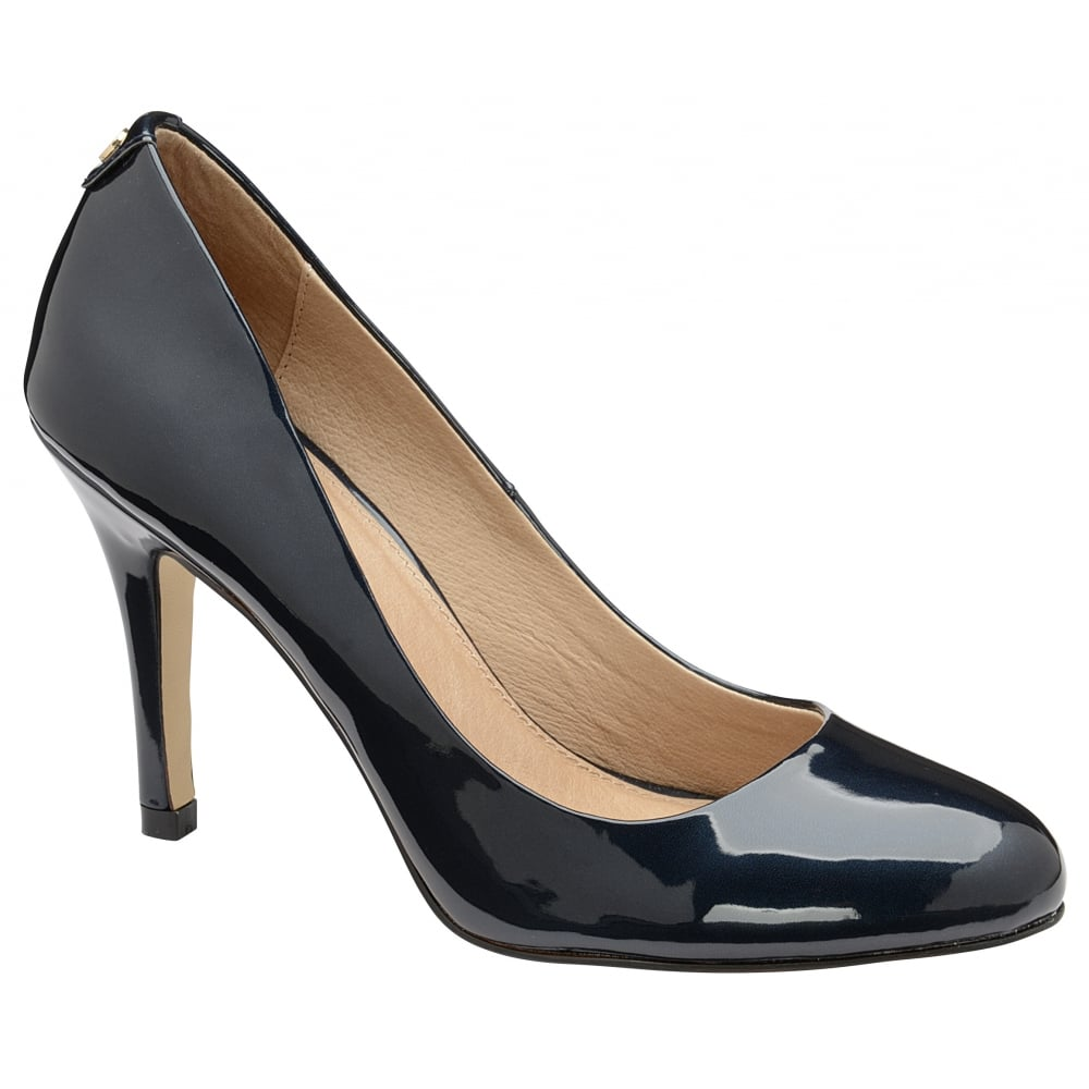 buy ravel clanton court shoes in navy patent