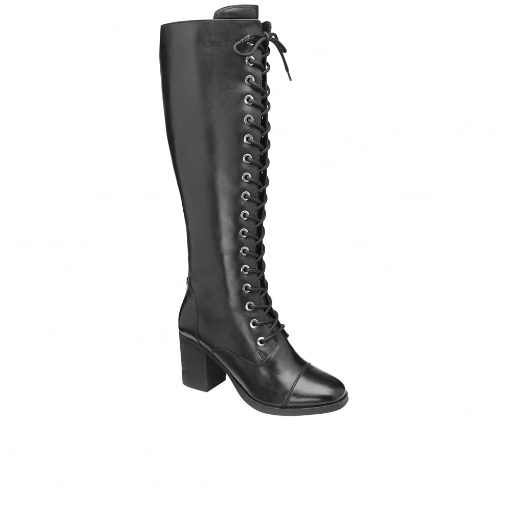 Knee High Boots. Can't decide between comfort and style? Meet in the middle with knee-high boots. Discover a pair to match your personality from fabulous flats to sky-high stilettos. Polished Professional.