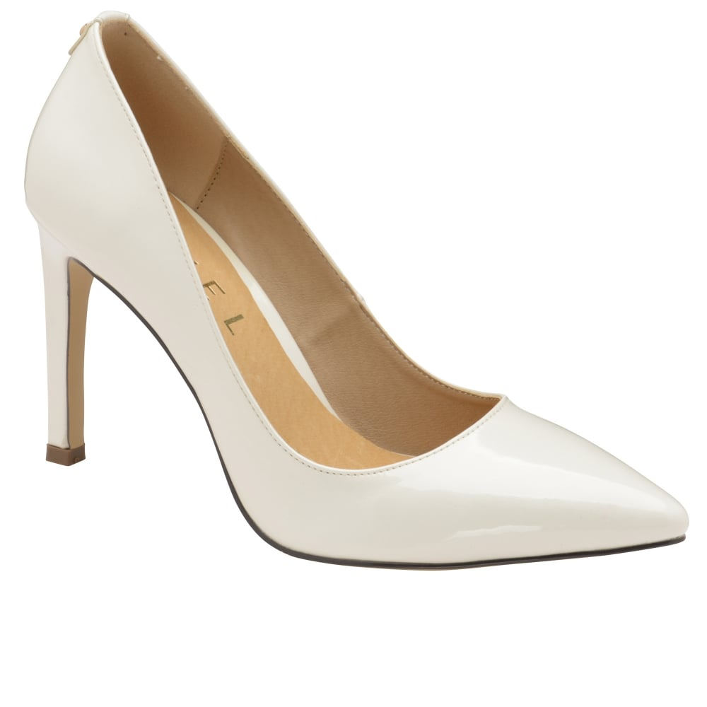 Buy Ravel Ladies Edson Court Shoes Online In White Patent