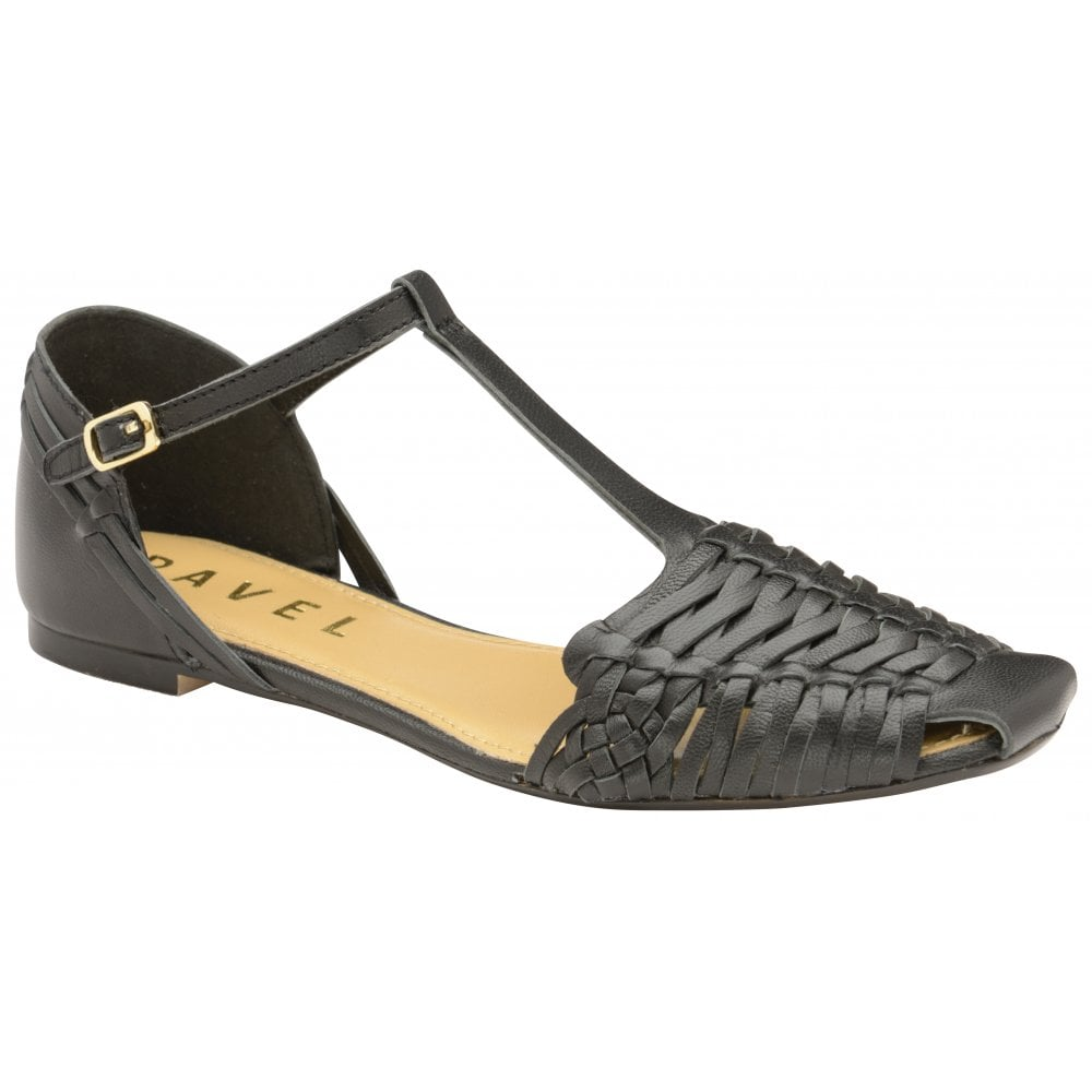 f5cd0e62c6f4 Buy Ravel ladies  Calhoun flat sandals online in black.